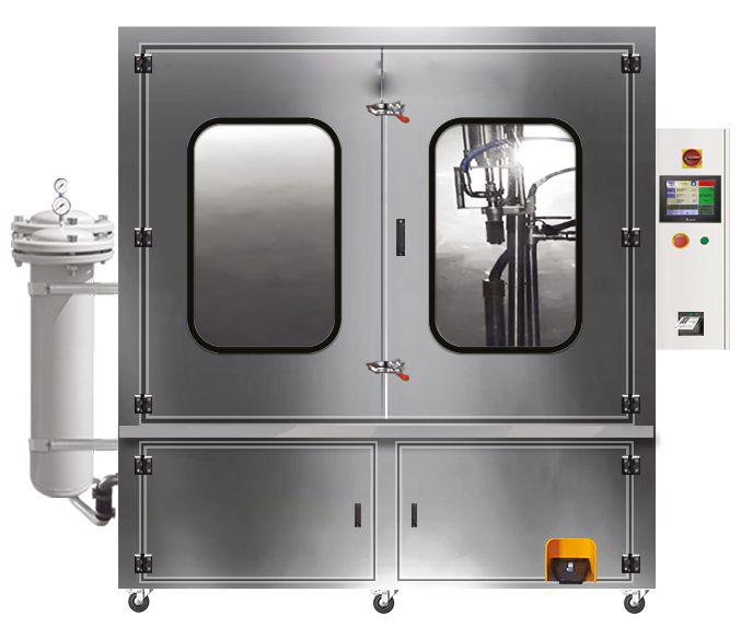 maszyna do czyszczenia filtrów DPF, FAP, SCR
