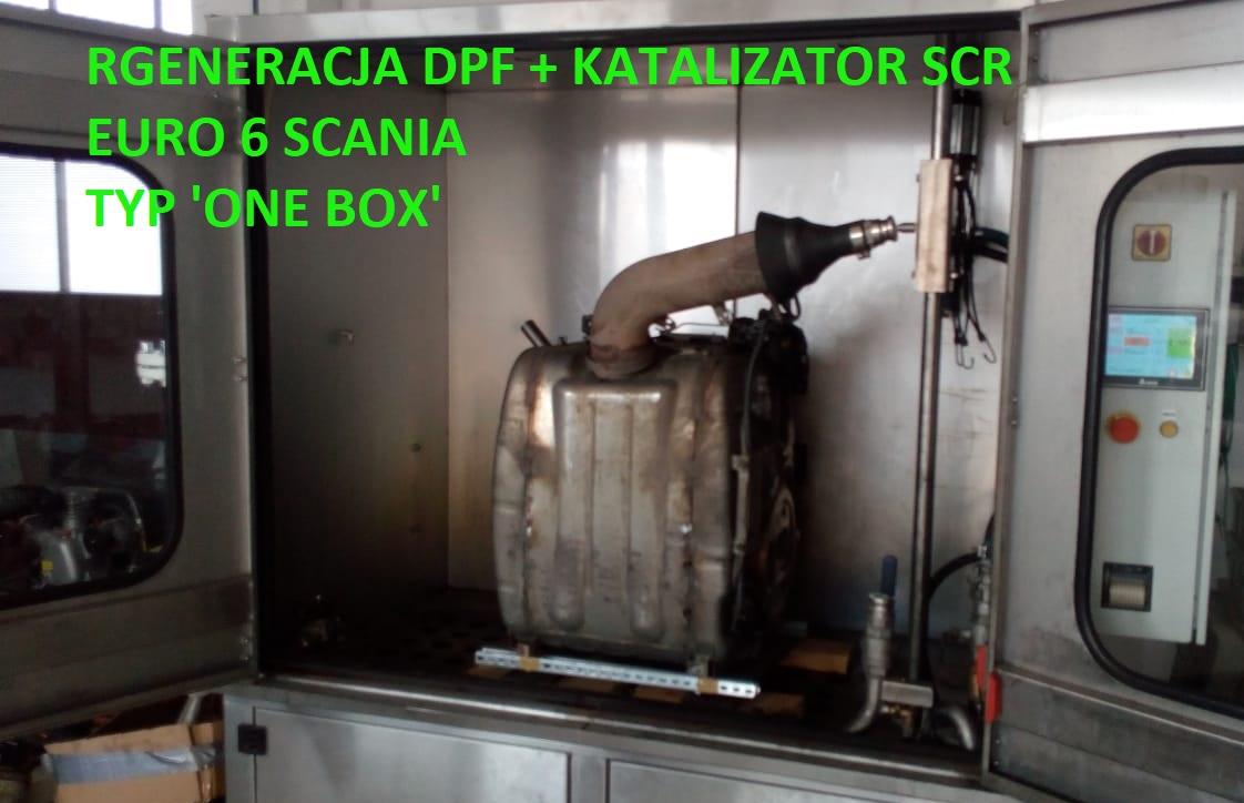 regeneracja DPF SCR scania one box